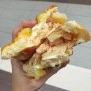 Salmon + potato in a bread?!