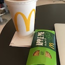 Iced Milo ($3.60) And Apple Pie ($1.50)