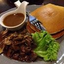 Pancake With Roast Beef