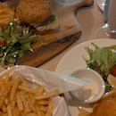 Truffle Shoestring Fries, Fish & Chips And Burger