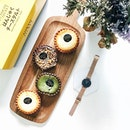 Favourite @danielwellington #classicpetite watch and favourite baked cheese tarts~ ❤💃🏻 Discovered @tokyosecretmy from my trip to City Square JB and I'm in love with them~ 🤤 the matcha one especially!😋😋 So good that I didn't share with @post_eatz.