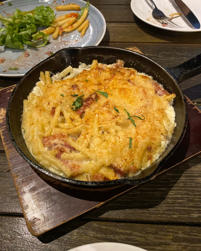 Bacon Truffle Mac And Cheese