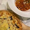 Truffle Mushroom Pasta & Crab Meat Aglio Oglio