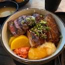 Wagyu and Pork Cheeks Combo ($16)