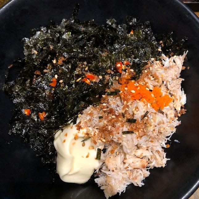 Tuna Rice Ball ($8)
