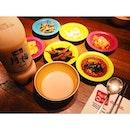 Makgolli + 星星餐 😂 #korea #food #dinner #makgolli #yummy #gangnam88 #instafood #star