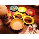 Makgolli + 星星餐 😂 #korea #food #dinner #makgolli #yummy #gangnam88 #instafood #star