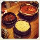 Hi tea 😂 ~  #korean #food #gangnam #88 #tea #time  @cyleong @darren_tang @brianpoy @tania_zheng