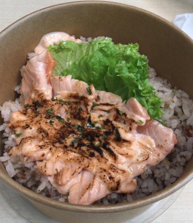 Yummy Mentaiko Salmon