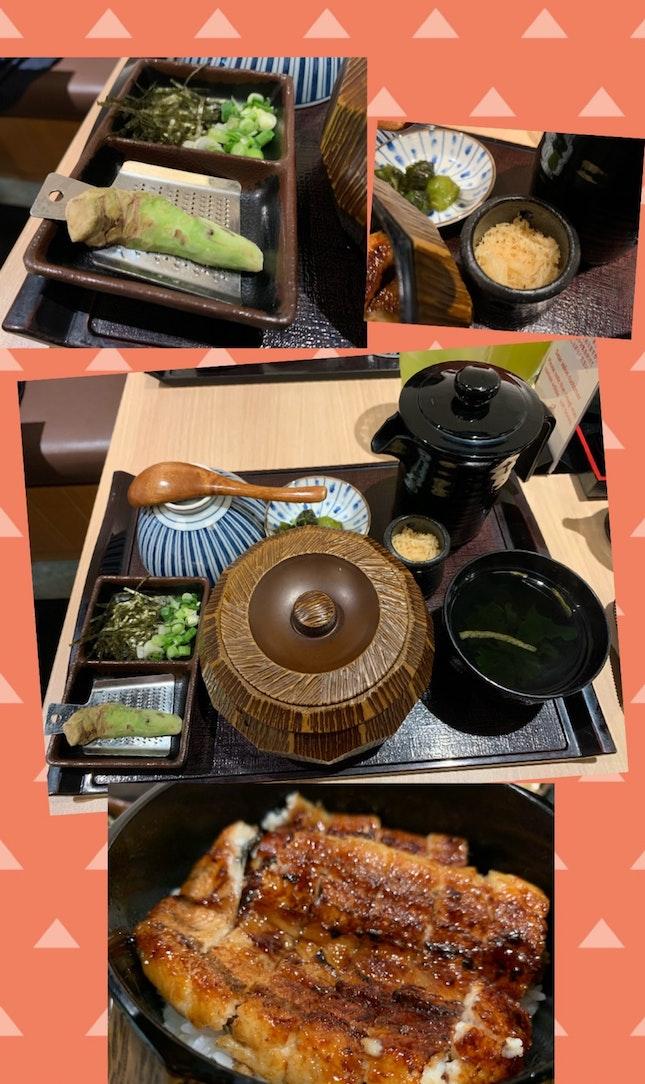 Hitsumabushi Meal