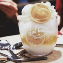 Lemon Bingsu @ Dal.Komm Coffee