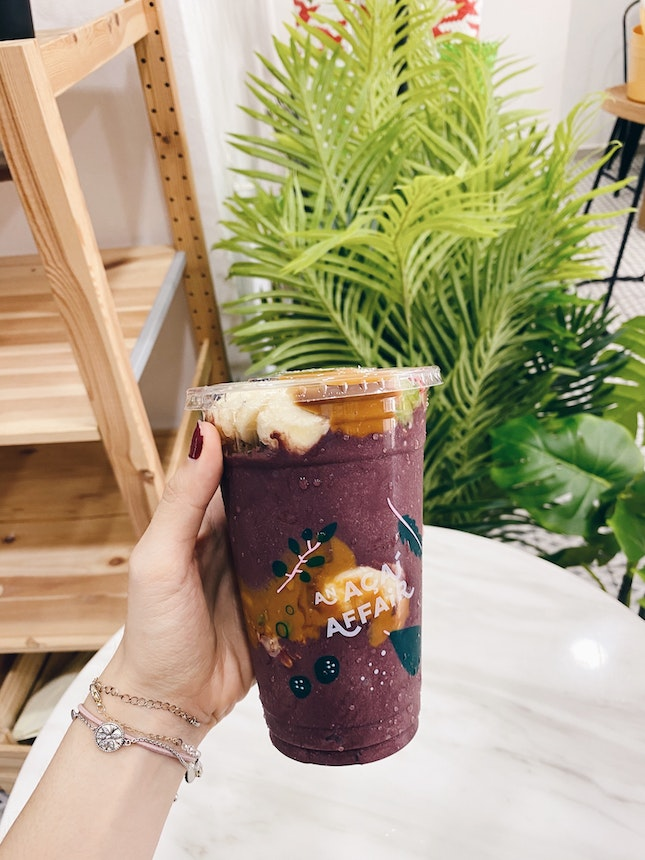 One of the better açai places out there