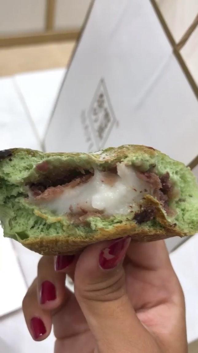 nayuki matcha blossom bread