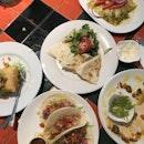 tacos, nachos, quasedillas