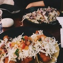 Fish And Korean Pork Tacos