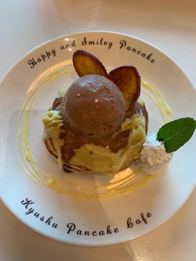 Sweet Potato Purée Pancake