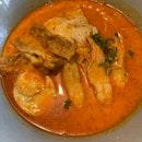 Prawn and Chicken Laksa
