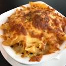 Meatball Marinara Baked Pasta