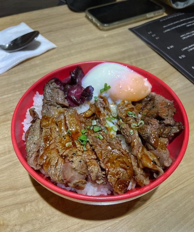 Yakiniku Beef Rice Bowl ($14.50)