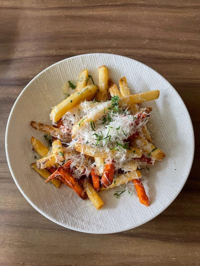 Truffe Fries ($14)