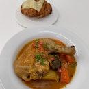 Chicken Stew & Croissant ($21)