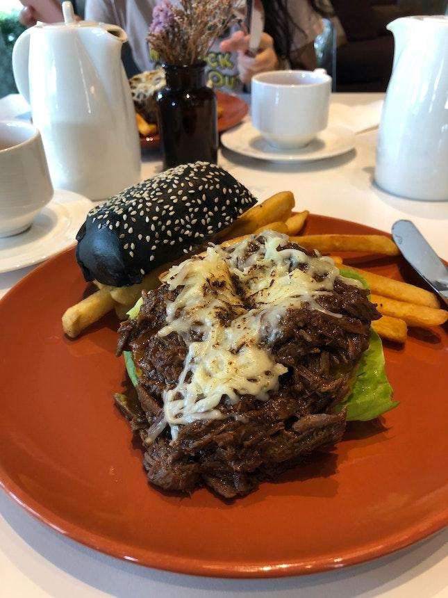 Charcoal Beef burger