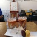 Mocha, Latte, Dark Choc Macaron And Yuzu Macaron (~$4.50/pax)