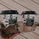 Matcha & Hojicha Latte