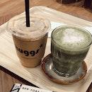 Latte Gula & Matcha Latte 🍵
