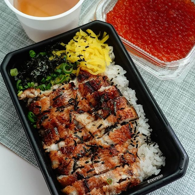 "📍🇸🇬 Singapore  The ""man"" I need was delivered from Man Man Japanese Unagi Restaurant!"