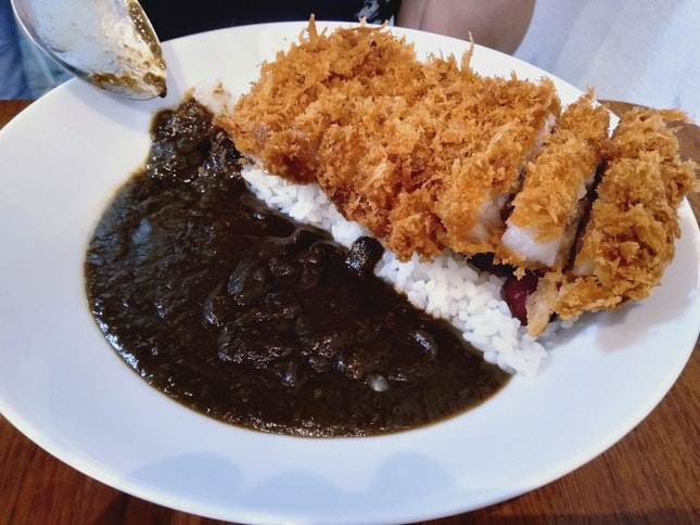 Pork Loin Cutlet (Hakata Curry) ($16)