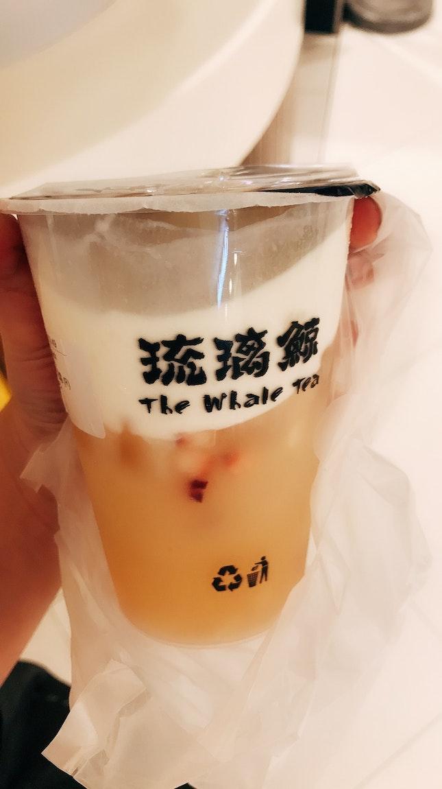 Snowy peach oolong tea