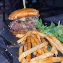 Beef Burger at Hopscotch