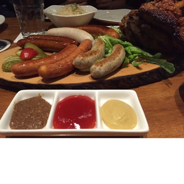 Sausage Platter & Pork Knuckle 🇩🇪