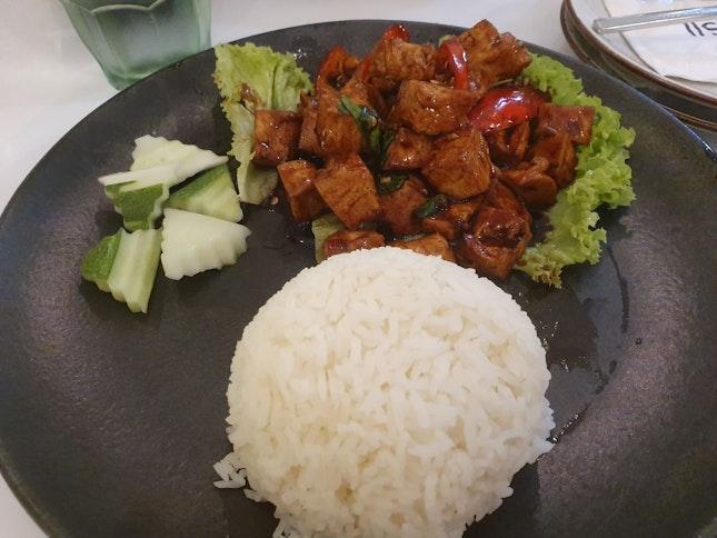 Basil Tofu