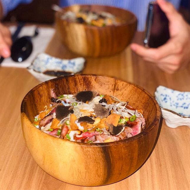 Amazing Beef Donburi!! ♥️_♥️