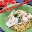 "Once in Singapore its a must to eat their famous Traditional Teochew Noodles ""Mee Pork"" quite good in deed as this was being recommended by a friend."