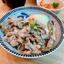 Grilled Pork Belly Rice