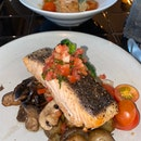 Salmon Fillet With Tomato Salsa ($27.80)