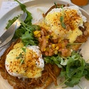 Pulled Pork Eggs Ben $14