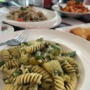 Yummy Pesto Pasta Not Too Creamy!!! Best In Singapore