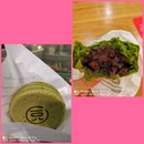 Green Tea Pancake With Azuki