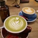Matcha Latte & Cuppachino