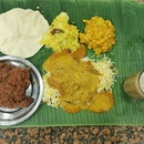Superb Banana Leaf Rice