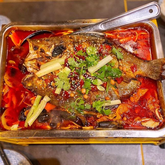 Chong Qing Grilled Fish Buffet