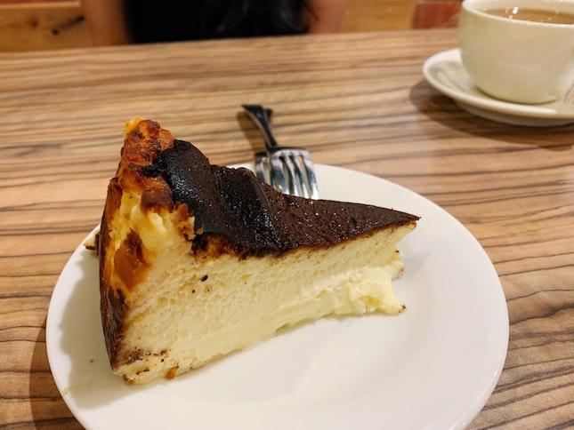Basque Burnt Cheesecake ($9)