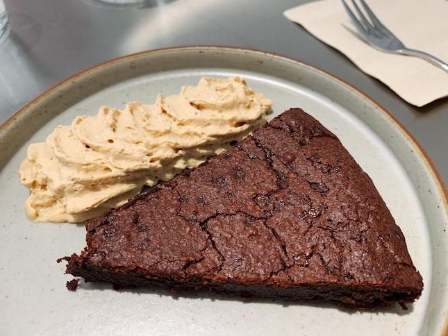 Flourless Chocolate Cake ($7.5)