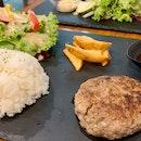 Hamburger Steak Set | $19