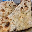 Garlic Naan | $3.50