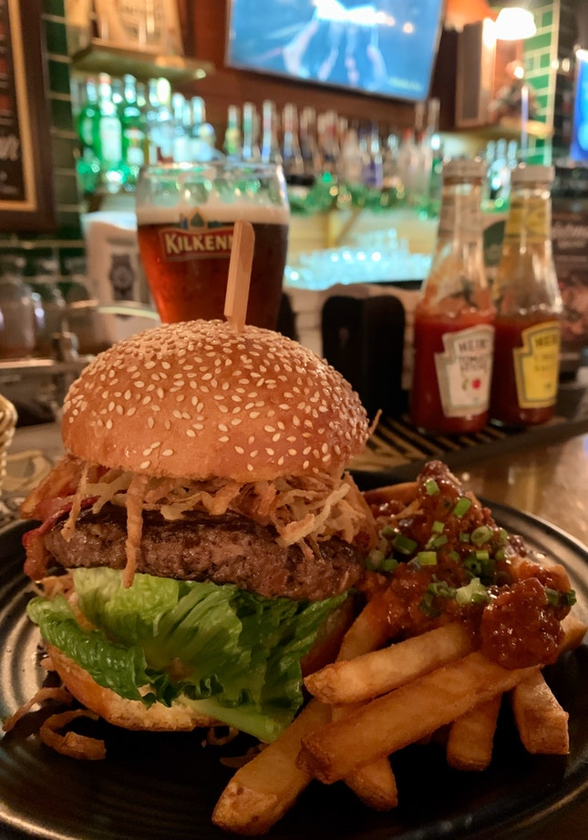 Poet's Burger   $22